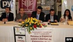 Conversatorio de la Relatoría sobre Libertad de Expresión de la CIDH en Asunción.