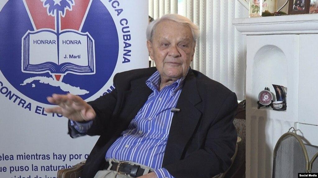 El Dr. Salvador Lew, abogado cubano de gran desempeño en la radio de Miami, fallecido el 25 de mayo a los 90 años de edad. (YouTube).