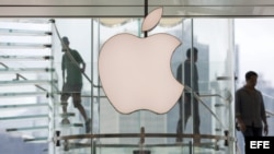 Oficina de Apple en Hong Kong, China.