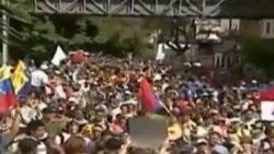 Marcha estudiantil en Venezuela exige la renuncia de Maduro