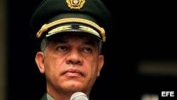 El director de la policía de Colombia, general Jose Roberto León Riaño.