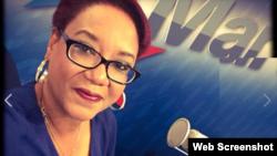 Exilda Arjona Palmer, periodista de Radio TV Martí