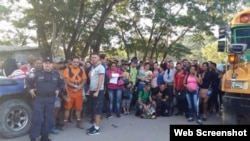 Nicaragua impidió a cientos de cubanos pasar por su frontera desde finales de octubre pasado, creando un caos en la frontera con Costa Rica.