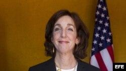 La secretaria de Estado Adjunta de EE.UU. para Asuntos del Hemisferio Occidental, Roberta S. Jacobson, en foto de archivo.