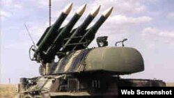 Misiles antiaéreos Buk, o SA-11 Gadfly, que se cree destruyeron el vuelo MH17 de Malaysia Airlines sobre Ucrania.