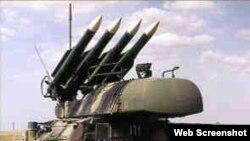 Misiles antiaéreos rusos.