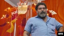 El artista cubano Jorge Pardo.