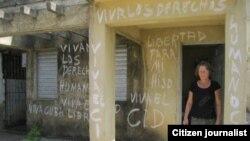 Reporta Cuba Pinar del Río Madre reclama justicia Foto José Ernesto
