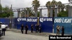 Agencia de Cerveza Corona en Monterrey, México.