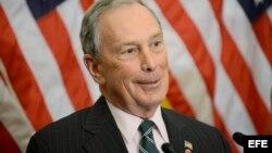 El ex alcalde de Nueva York, Michael Bloomberg. EFE