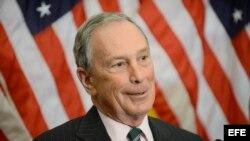 El exalcalde de Nueva York, Michael Bloomberg. EFE