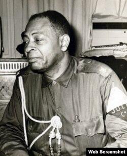 Teniente del Ejército Constitucional, Pedro Sarr'ia Tartabull, ascendido a capitán tras el triunfo de Castro