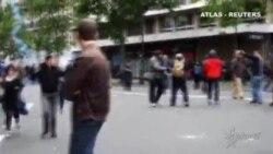 Un centenar de detenidos y más de 40 heridos tras una manifestación contra la reforma laboral