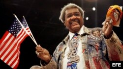 El promotor de boxeo Don King