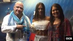 1800 Online con la hermosa atleta paraguaya Fabiola Martínez