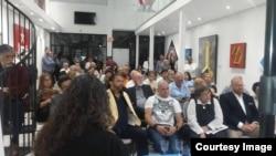 Asistentes a la II Convención de la Cubanidad en Miami.