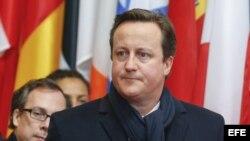 El primer ministro británico, David Cameron. Archivo.