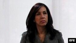 Fotografía de archivo de la ministra de Justicia de Colombia, Ruth Stella Correa.