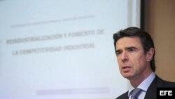 José Manuel Soria, ministro de Industria, Energía y Turismo de España.