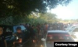 Los cubanos desbordan las calles de la localidad mexicana, pernoctando a la intemperie.