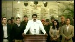 Anuncio del fallecimiento del presidente Hugo Chávez Frías