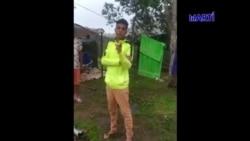 Cubano varado en Costa Rica pide se comparta su vídeo