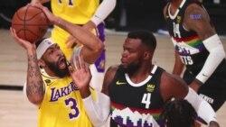 Los Lakers de los Ángeles a un triunfo de avanzar a la final de la NBA