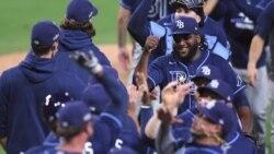 Los Rays de Tampa enfrentan esta noche a los Astros buscando una victoria que los envíe a la serie mundial