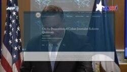 Departamento de Estado de EEUU condena enjuiciamiento en Cuba de Quiñones
