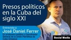 Entrevista a José Daniel Ferrer por el IPL