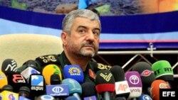 El general Mohamad Ali Yafari, comandante del Cuerpo de Guardianes de la Revolución de Irán.