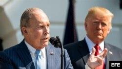 El principal asesor económico de la Casa Blanca, Larry Kudlow