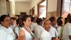 25 Damas de Blanco detenidas entre ayer y hoy