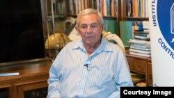 Renán Llanes, fundador de la Casa del Preso, falleció este martes en Miami. (Foto: Wenceslao Cruz)