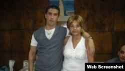 Harold Alcalá Aramburo y Julia Estrella Aramburo Taboas (Foto: Archivo).