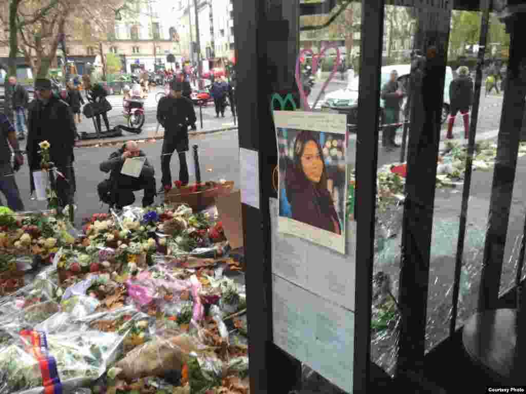 Nohemí González, una de las víctimas de los ataques terroristas.
