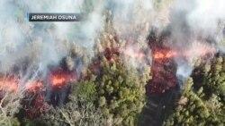 Volcán Kilauea, en Hawaii (EEUU), entró hoy en erupción provocando una orden de evacuación de una zona residencial cercana.