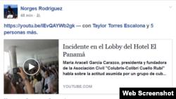 Página de FB de Nestor Rodríguez.