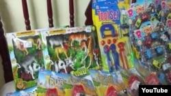 Reporta Cuba Confiscan juguetes para fiesta Infantil