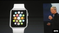 El Apple Watch, presentado en San Francisco, Estados Unidos.