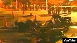 Incendio gasolinera Santiago de Cuba