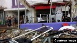Negocios afectados por el Huracán Irma en Cuba