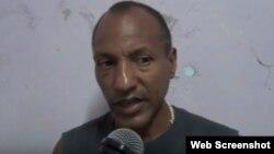 El opositor cubano Carlos Manuel Figueroa.