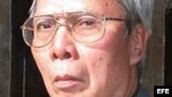 El disidente vietnamita Nguyen Chi Thien.