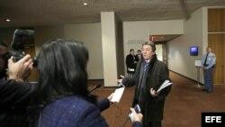 Yuriy Sergeyev, embajador de Ucrania ante la ONU