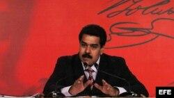 Fotografía de archivo de Nicolás Maduro.