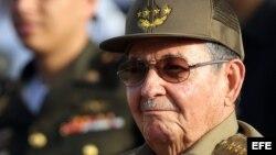 Fotografía de archivo del gobernante cubano Raúl Castro.