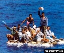 Solución desesperada: Pese a las repatriaciones y los riesgos, muchos cubanos planean irse en una balsa.