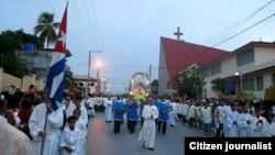 Reporta Cuba veneran a la virgen Guantánamo foto Yoanni Beltrán