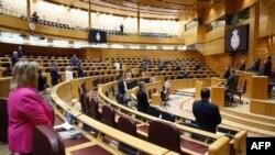 Vista del Senado Español. Andres BALLESTEROS / POOL / AFP